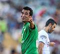 Khodadad Azizi in a charity football match.jpg