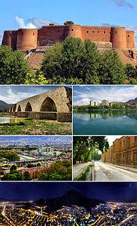 County in Lorestan Province, Iran