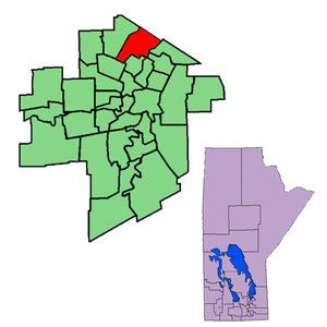 Kildonan (electoral district) - Image: Kildonan 98