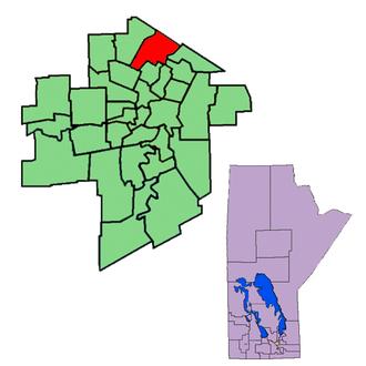Kildonan (electoral district) - Image: Kildonan 98