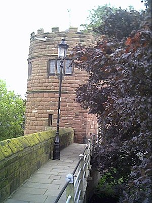 Phoenix Tower, Chester - Image: King Charles Tower, City Walls, Chester geograph.org.uk 9695