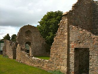 The Kings of Wessex Academy - The ruined chapel is a Grade II listed building