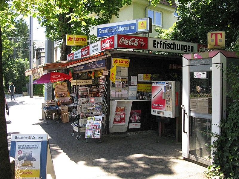 File:Kiosk in der Günterstalstraße in Freiburg-Wiehre.jpg