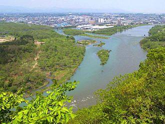 Waga River - Image: Kitakami and Waga Rivers