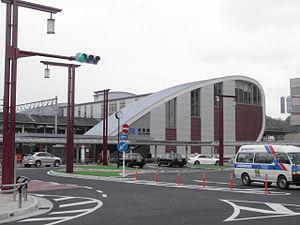 Kizu Station (Kyoto) - Image: Kizu station station building