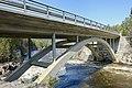 Kløftbrua Kløft bru road bridge Trondheimsveien E6 Byna and Orkla rivers spring floods Ulsberg Rennebu kommune Trøndelag Norway 2019-04-25 DSC04942.jpg