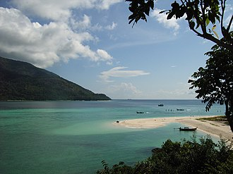 Satun Province - Image: Ko Lipe beach
