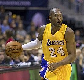 Bryant handling the basketball