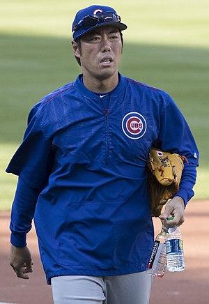 Koji Uehara - Uehara with Cubs in 2017