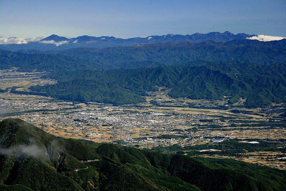 Komagane Nagano and Southern Yatsugatake Volcanic Group
