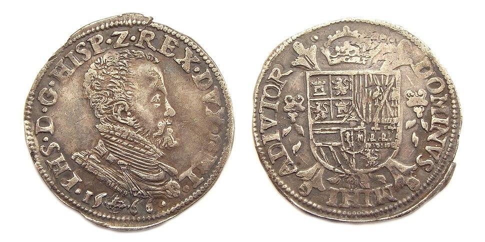 Koning Spanje Filips II 1-5 Philipsdaalder 1566