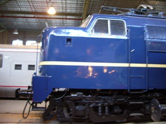 NS Class 1200 - Image: Kop van loc NS 1202