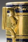 Kopp med fat. Sorgental. Detalj öra - Hallwylska museet - 87136.tif