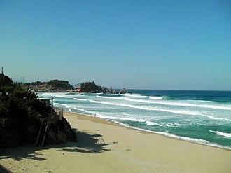 Samcheok - Image: Korea Samcheok Beach 01