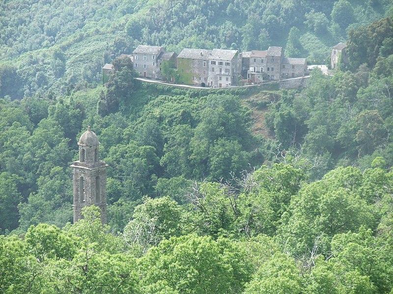 Korsisches Bergdorf