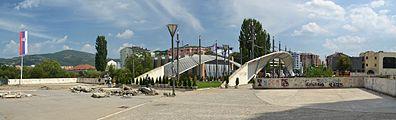 Kosovska Mitrovica bridge - from north.JPG