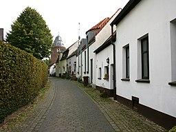 Wanderstraße in Kranenburg