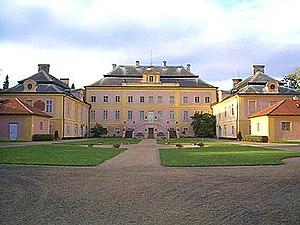 Johann Rudolf Czernin von und zu Chudenitz - Krásný Dvůr Castle (German: Schloss Schönhof)