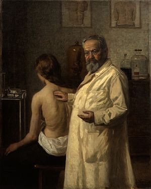 Salomon Ehrmann - Portrait of Salomon Ehrmann by Lazar Krestin