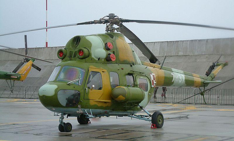 """مصنع """"روستفيرتول"""" الروسي يبدأ بتجميع أول مروحية تدريبية قتالية 800px-Krzesiny_106RB"""