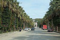 Kuçovë Main street.jpg