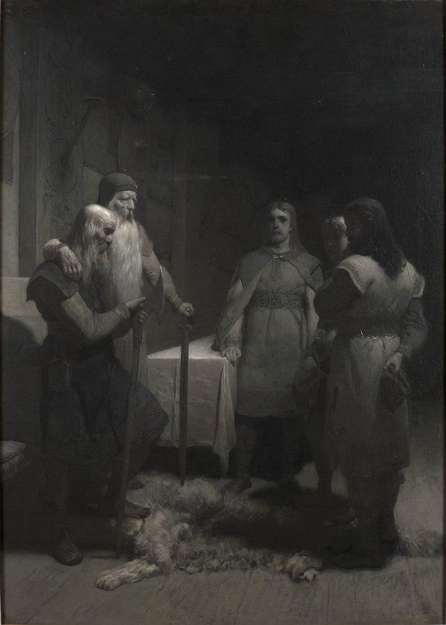Kung Bele och Thorsten Vikingsson (ur Frithiofs saga)