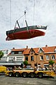 Kustvissersvaartuig OD.1 Martha wordt overgebracht naar het nieuwe Nationaal Visserijmuseum te Oostduinkerke - 373112 - onroerenderfgoed.jpg