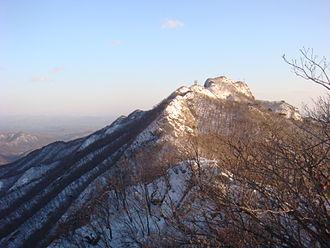Gyeryongsan National Park - Image: Kyeryongsan 4062