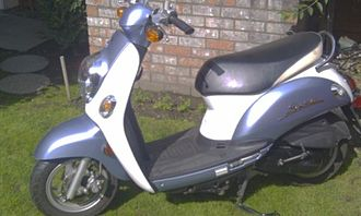 Continuously variable transmission - Kymco scooter with CVT