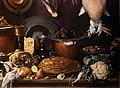 L'empoli, dispensa con botte, selvaggina, carni e vasellame, 1624, 08.jpg