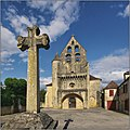 LAMOTHE-FENELON (Lot) - Église Saint-Sixte et croix 02.jpg