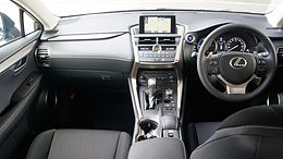 LEXUS NX300h Japan 2014 Interior.JPG