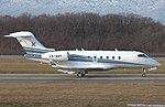LX-AVT Bombardier BD-100-1A10 Challenger 300 CL30 -LXA (11867782735).jpg