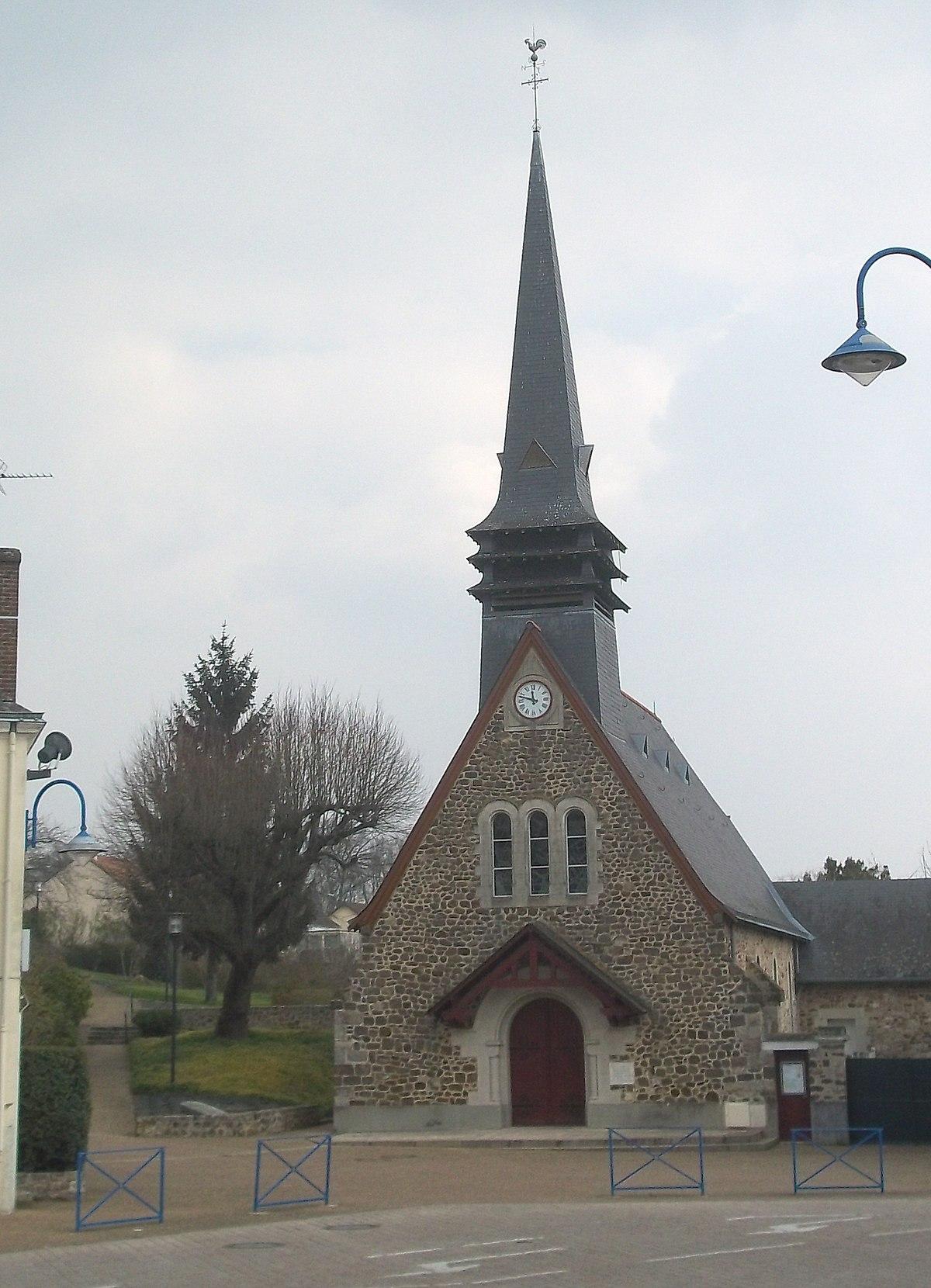 La chapelle saint aubin wikip dia - La petite cheminee saint aubin ...