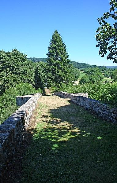 La Salvetat-sur-Agout (Hérault) - pont de Saint-Étienne sur la Vèbre.