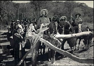 The Gaucho War - Francisco Petrone in a scene from the film