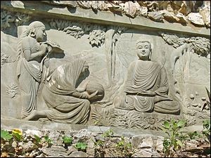 Nirvana (Buddhism) - The Buddha's quest for nirvana, a relief in Vietnam