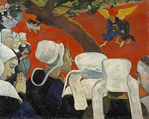It's a painting of Paul Gauguin which is in Na...