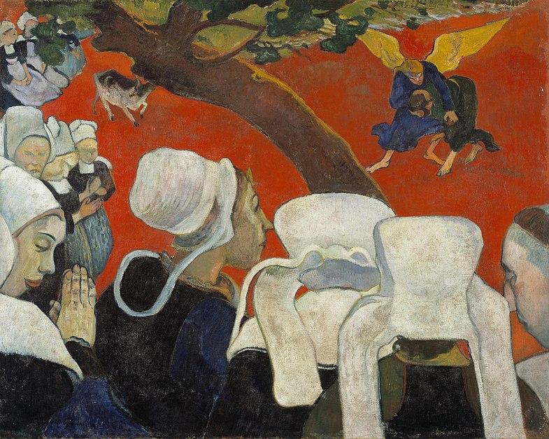 File:La vision après le sermon (Paul Gauguin).jpg