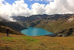 Lac de Moiry, (2250 m) Grimentz, Zwitserland 01.JPG