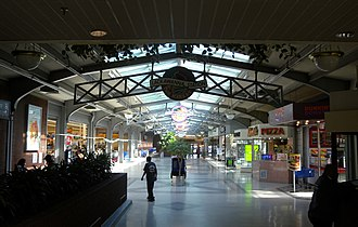 Lackawanna Terminal (Montclair, New Jersey) - Image: Lackawanna Sta inside Montclair jeh