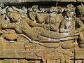 Lalitavistara - 026 E-13, The Bodhisattva enters Queen Maya's Womb, Queen Maya (detail) (8598175075).jpg