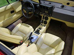 Lamborghini Jalpa - Interior