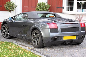 Jeremy Clarkson - Lamborghini Gallardo Spyder once owned by Clarkson