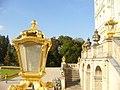Lampe und Treppen, Schloss Nymphenburg - geo.hlipp.de - 22134.jpg