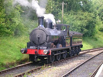 Locomotives of the Lancashire and Yorkshire Railway - Image: Lancashire & Yorkshire Railway No. 957