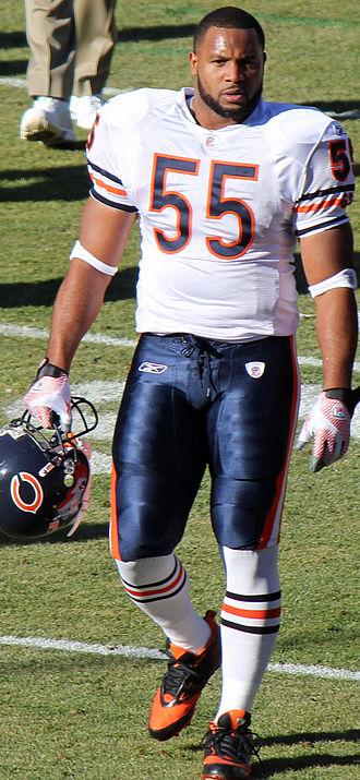Lance Briggs - Briggs in 2011