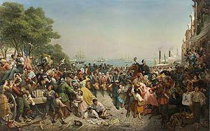 Lang, Louis - Return of the 69th (Irish) Regiment, N.Y.S.M. from the Seat of War - 1862.jpg