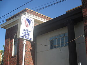 League of United Latin American Citizens - Image: Laredo, TX, LULAC bldg. IMG 7658