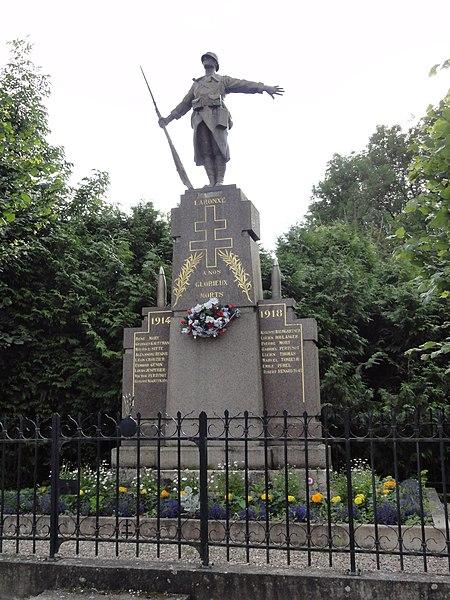 Laronxe (M-et-M) monument aux morts